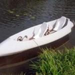 Cycanoa, waterfiets voor trekkers-doeleinden