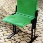 Test opstelling voor stadionstoel