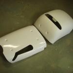 Kappen vacuümvormen uit 6 mm PS