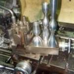 Kandelaars van aluminium