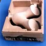 CNC frezen van een moedervorm van een schakelelement
