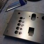 Laser graveren van de iconen op rvs