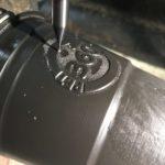 CNC frezen vacuümvormmal embossed logo